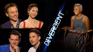 Face Your Fears w/ Divergent Cast Ashley Judd, Tony Goldwyn & More!