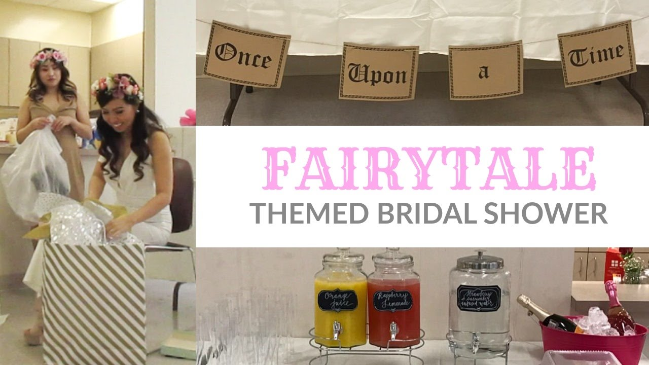 my fairytale themed bridal shower youtube rh youtube com