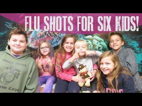 Flu Shots for 6 Kids!!