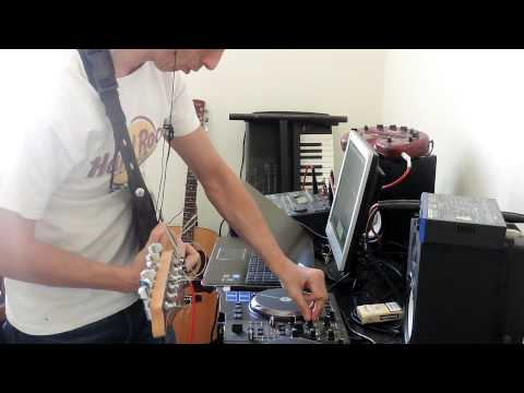 DEEP HOUSE- DJ AND GUITAR LIVE IMPROVISATION by guitarland