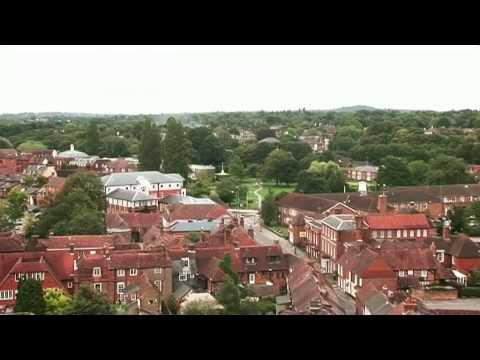 Farnham Town Video Tour (Farnham, Surrey, UK)