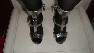 第十二到第十八双不锈钢高跟鞋展示metal bondage