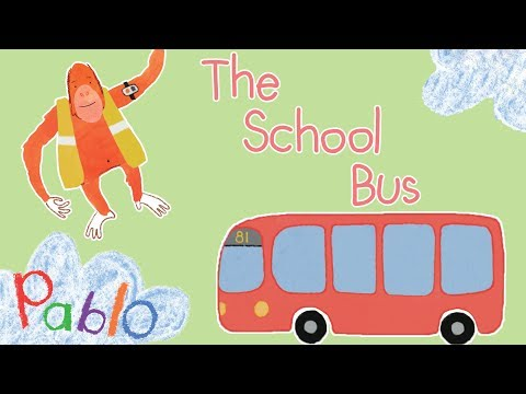 Pablo - The School Bus 🚌🎓 | Cartoons For Kids  #ThinkDifferently