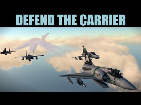 Cobalt Spear Campaign: HUGE AIR BATTLE To Save Stranded Aircraft Carrier | DCS