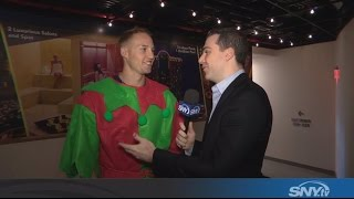 Brandon Nimmo talks being an elf and 2017 New...