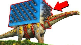 ark survival evolved biggest raid on ark survival evolved invincible titanosaur