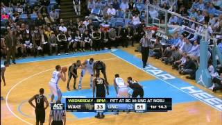 Wake Forest @ North Carolina (2/22/2014)