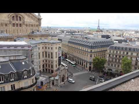 Galeries Lafayette Paris Haussmann (on the roof), Paris, France