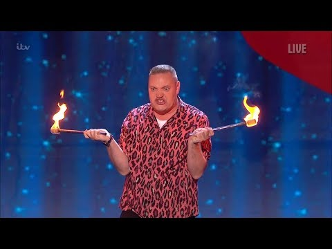 Britain's Got Talent 2019 Live Semi-Finals Night 4 Graeme Mathews Full Clip S13E15