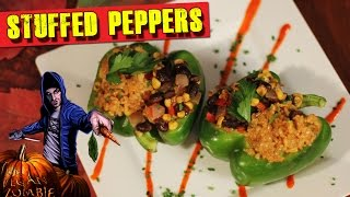 Stuffed Pepper Recipe | Food For Lovers Queso | The Vegan Zombie