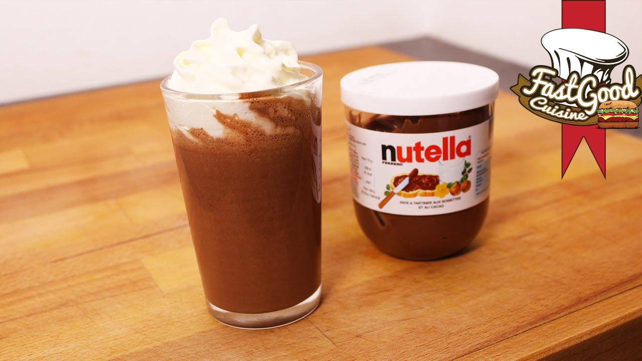 recette milkshake nutella