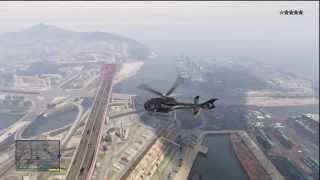 GTA 5 HELICOPTER LOCATION! - Not Hard To Steal