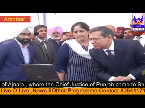 Chetna Legal Service Camp was installed in Gau Chaugava in Amritsar,