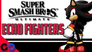 Super Smash Bros Ultimate : Que Son y Quienes Seran los Peleadores Echo  en este Juego???