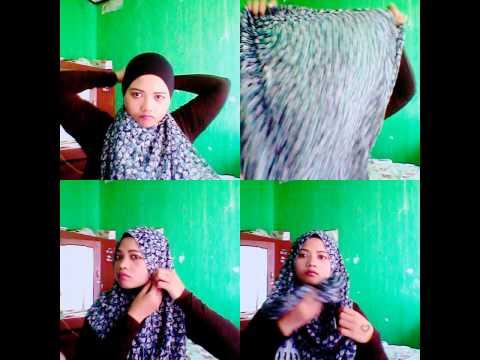 tutorial hijab with camera B612