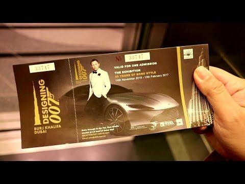 Designing 007: Burj Khalifa Dubai - 50 Years of James Bond