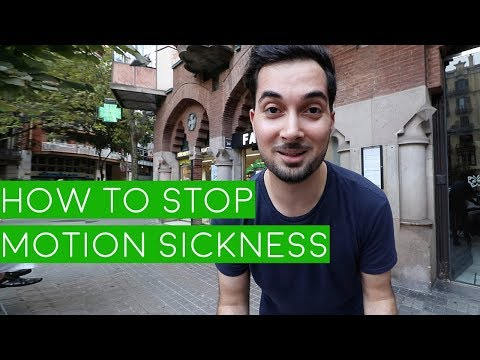 Motion Sickness Treatment | How To Stop Motion Sickness