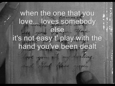 when the one you love loves someone else