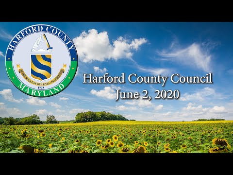 Harford County Council Board Of Health Update, Public Hearing And LSD 20-019