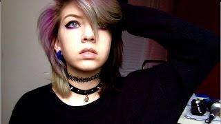 my everdyday makeup black/purple
