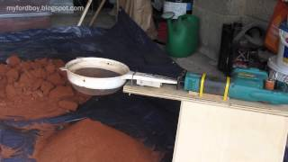 Metal Casting at Home Part 31 Super Sifter