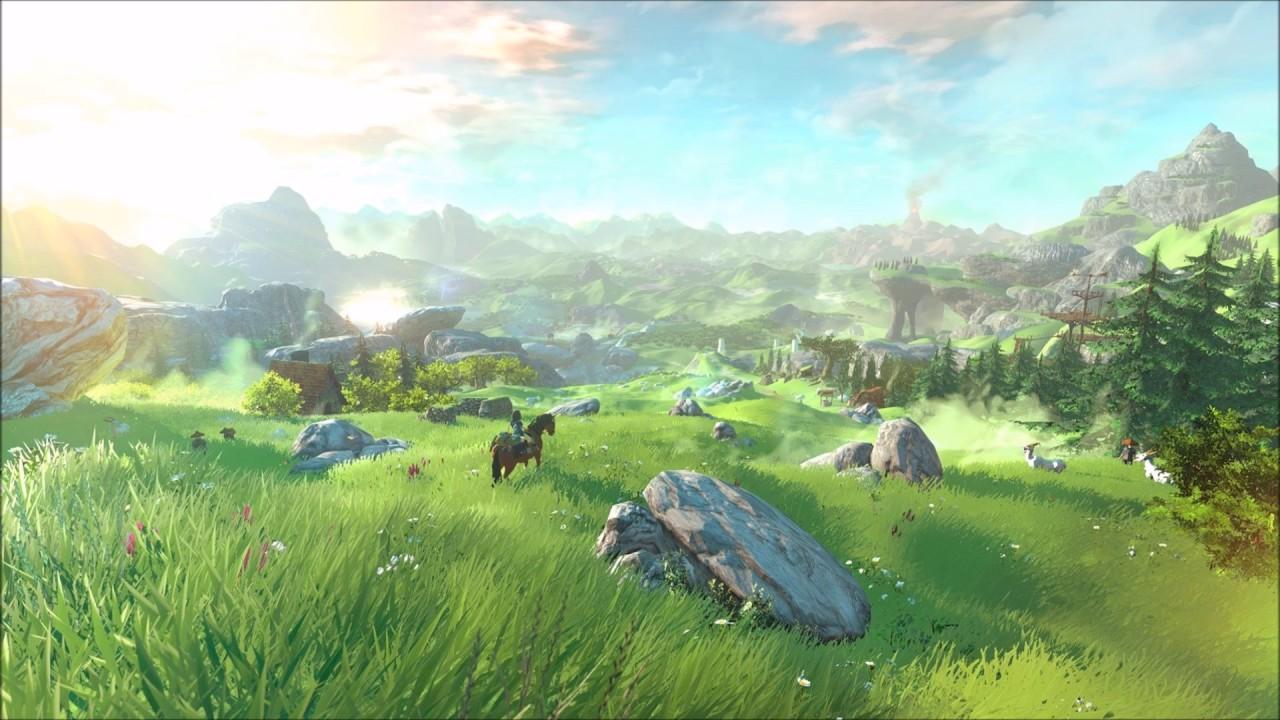 The Legend Of Zelda Botw Ost Field Day Youtube