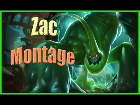 Zac Montage - Nasıl Gank Atılır (league of legends)