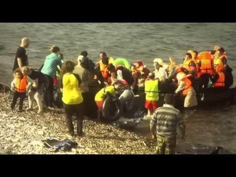 Bericht freiwilliger Helfer über die  Situation der Flüchtlinge auf Lesbos -Peer-Leader Braunschweig