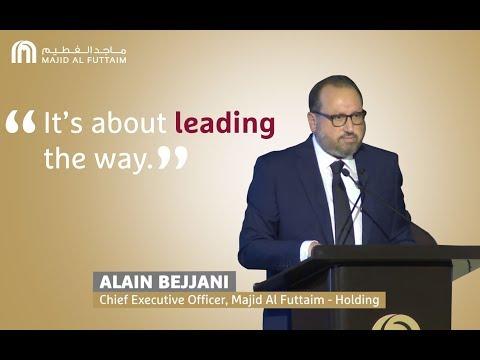 Setting an aspiration for Leadership   Majid Al Futtaim - Holding CEO, Alain Bejjani