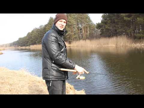 Рыбалка в Черкассах в апреле. Щука в Дахновской канаве (и купание в апреле).