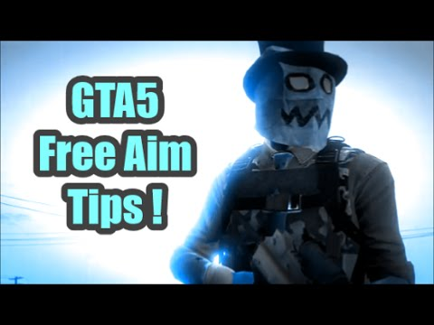 how to change free aim in gta online