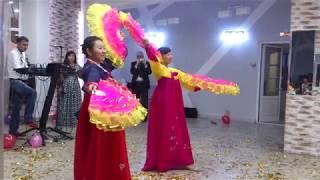 Корейский Танец с Веерами