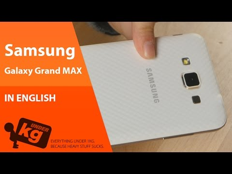 [EN] Samsung Galaxy Grand Max Unboxing [4K]