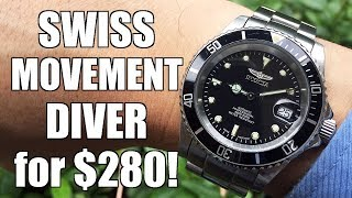 Best Rolex Sub Homage Under $300? Invicta Pro Diver 9937OB Automatic Diver Review - Perth WAtch #254