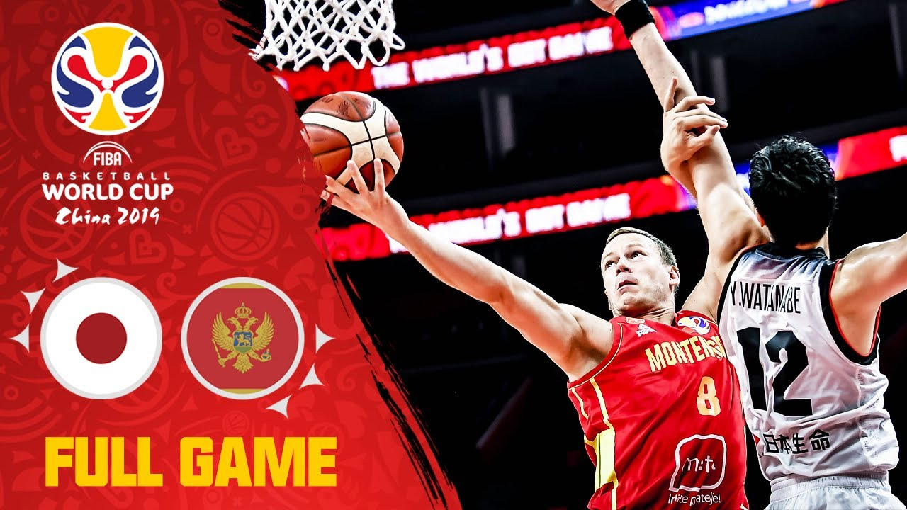 Japan could not stop Montenegro! - Full Game - FIBA Basketball World Cup 2019