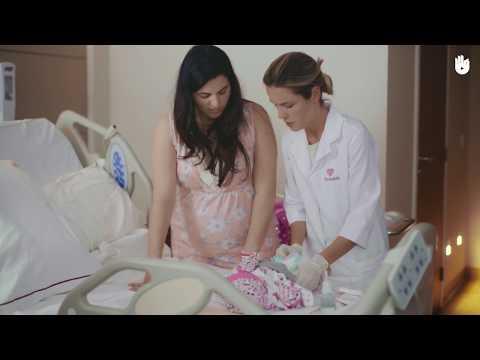 Limpando o coto umbilical | Higiene e cuidado do bebê