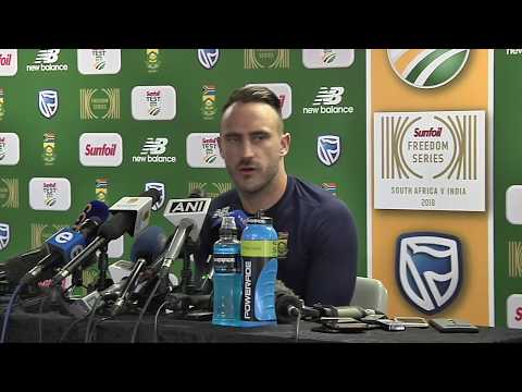 Expecting a good challenge from India in Johannesburg – Faf du Plessis