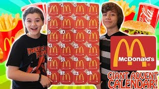 Giant McDonalds Advent Calendar 2017!