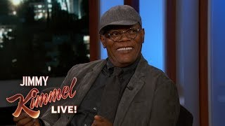 Samuel L Jackson on Playing a Young Nick Fury in Captain Marvel
