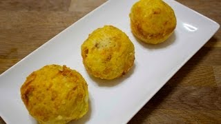 Stuffed Potatoes- Papas Rellenas - Cooked By Julie - Episode 102