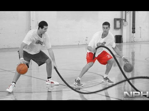 Real Basketball Training with Dwight Powell and Stefan Nastic