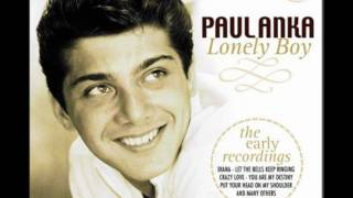 Paul Anka-Lonely Boy/Lyrics