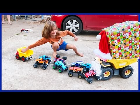 Dump Truck O'Claus is Back