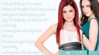 Watch Ariana Grande Santa Baby feat Liz Gillies video