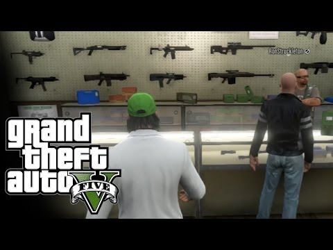 Gun Shopping - GTA 5 Online