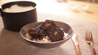 John Whaite&#39s 5-ingredient sticky black sesame chicken