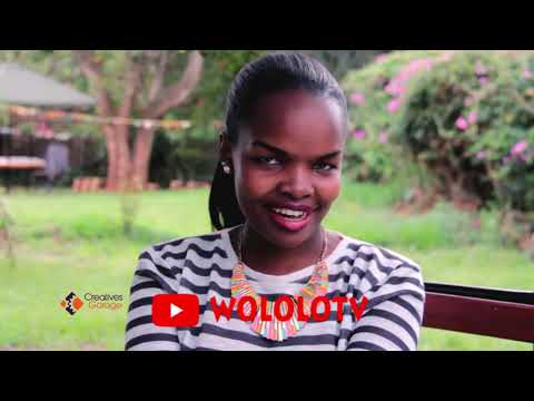 REACTION OF THE BEST NEWS PRESENTER IN KENYA