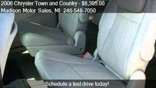 2006 chrysler town and country touring 4dr ext minivan for s