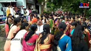 Teej Ustav Dance by Banjara Girls and Womens    Nice Group Dance    3TV BANJARAA