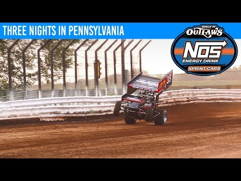 Three Nights in Pennsylvania | World of Outlaws NOS Energy Drink Sprint Cars May 15-18, 2019